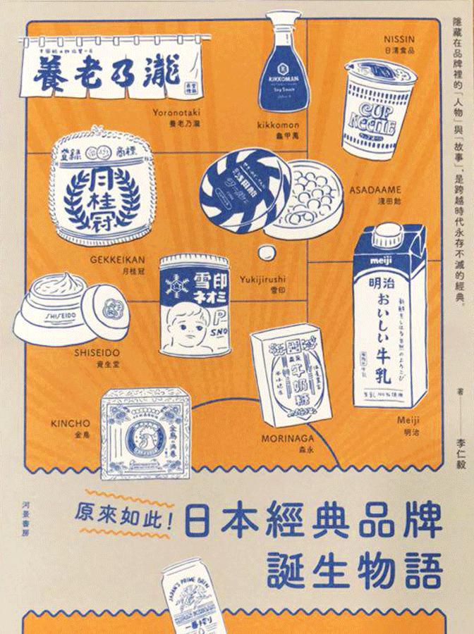 原來如此!日本經典品牌誕生物語
